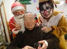 クリスマスといえばケーキ★サンタにトナカイも登場しプレゼントをお渡し♫